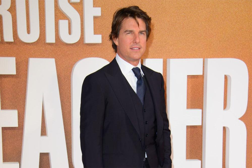 Tom Cruise at Jack Reacher: Never Go Back premiere