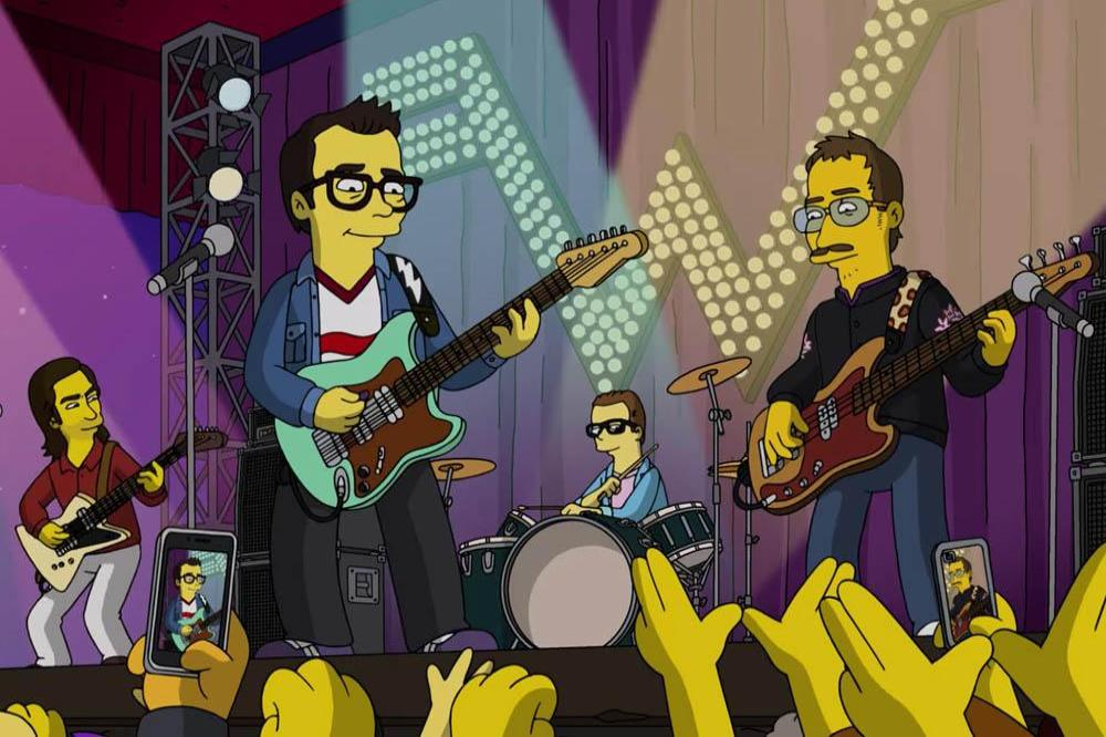 Weezer on The Simpsons
