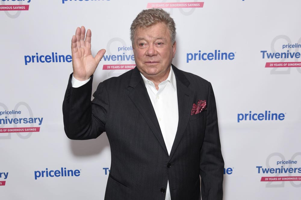 william shatner jokes about inseminating space
