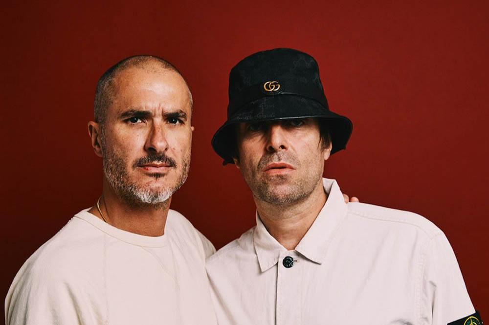 Zane Lowe and Liam Gallagher