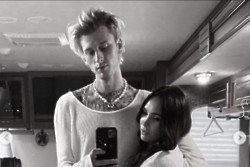 Machine Gun Kelly and Megan Fox (c) Instagram