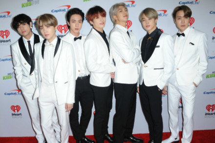 K-pop group BTS