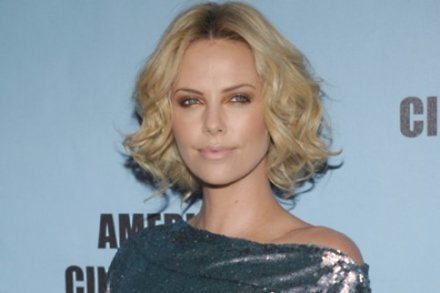 Charlize Theron has Two Eyes Staring
