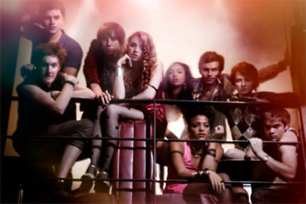 The cast of Skins 2012