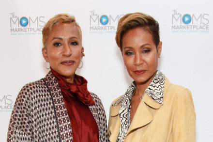 Adrienne Banfield-Norris and Jada Pinkett Smith