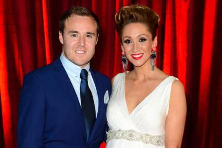 Alan Halsall and his ex Lucy-Jo Hudson