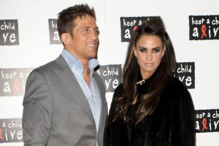 Alex Reid and Katie Price in 2010