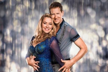 Brendan Cole and Anastacia
