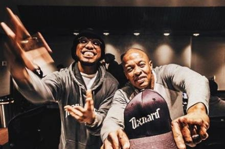 Anderson .Paak and Dr. Dre