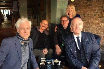 Bill Rieflin with King Crimson and Toyah Wilcox