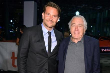 Bradley Cooper and Robert De Niro