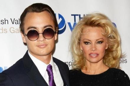 Brandon Lee and Pamela Anderson
