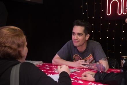 Brendon Urie at HMV Oxford Street
