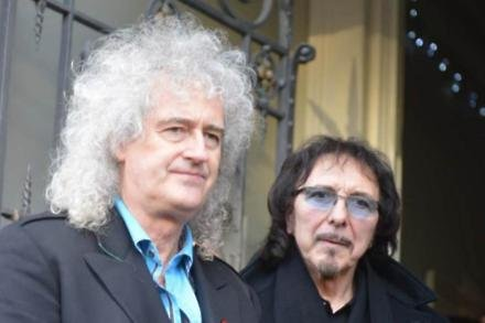 Brian May and Tony Iommi