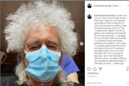 Brian May (c) Instagram