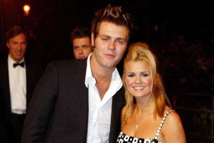 Brian McFadden and Kerry Katona