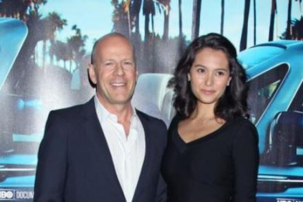 Bruce Willis and wife Emma
