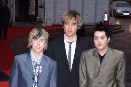 Busted at 2004 BRIT Awards