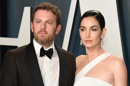 Caleb Followill and Lily Aldridge at Vanity Fair Oscar Party