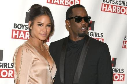 Cassie Ventura with Sean 'Diddy' Combs