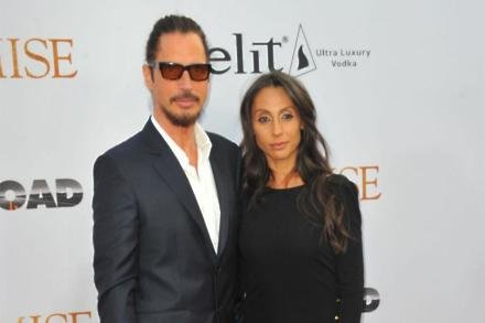 Chris Cornell and wife Vicky