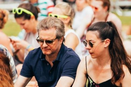 Colin Firth at Isle of Wight Festival