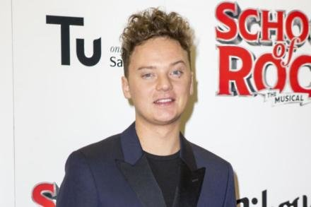 Conor Maynard at the School of Rock opening night