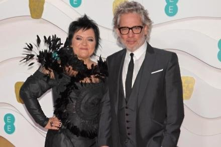 Dalia Ibelhauptaite and Dexter Fletcher
