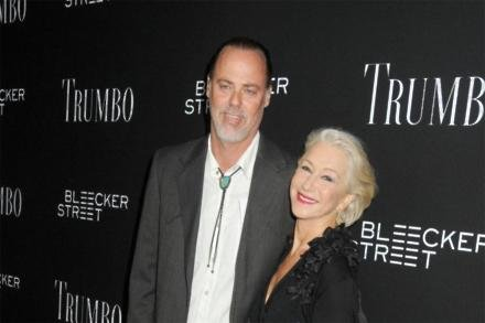 Dame Helen Mirren and Rio Hackford