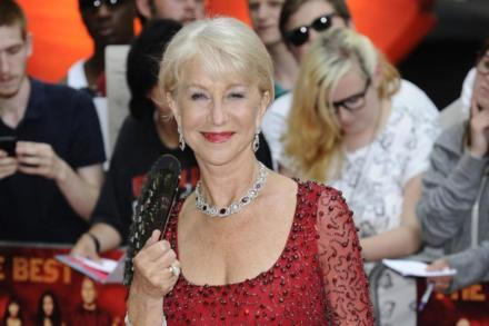 Dame Helen Mirren at RED 2 premiere