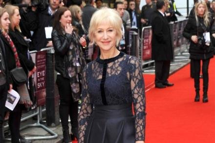 Dame Helen Mirren at Eye In The Sky premiere