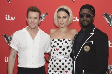 The Voice Kids mentors Danny Jones, Pixie Lott, and Will.I.Am