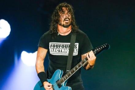 Dave Grohl at Rock in Rio 2019