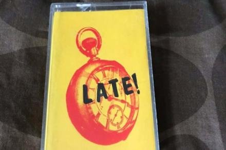 Dave Grohl's Late! tape (c) eBay