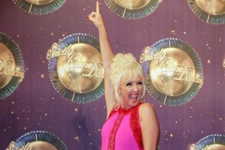 Debbie McGee is impressing on Strictly Come Dancing