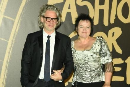 Dexter Fletcher and Dalia Idelhauptaite