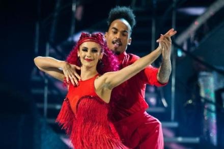 Dianne Buswell and Dev Griffin