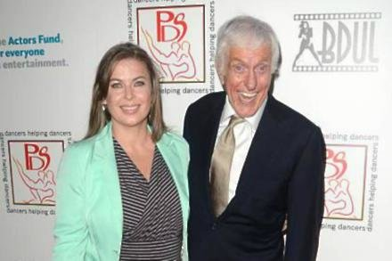 Dick Van Dyke with his wife