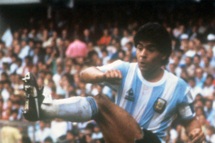 Diego Maradona at the 1986 World Cup