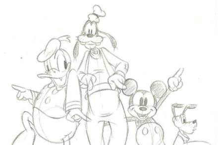 Disney's McFly drawing (c)