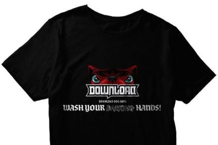 Download Festival's shirt for the NHS