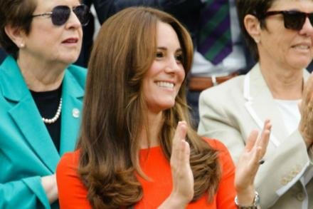 Duchess Catherine at Wimbledon
