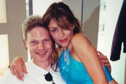 Elizabeth Hurley and Steve Bing [Instagram]