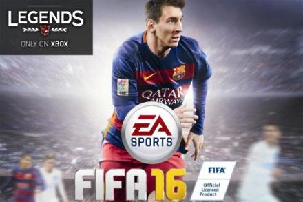 FIFA 16 had Messie on the cover