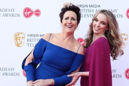 Fiona Shaw and Jodie Comer