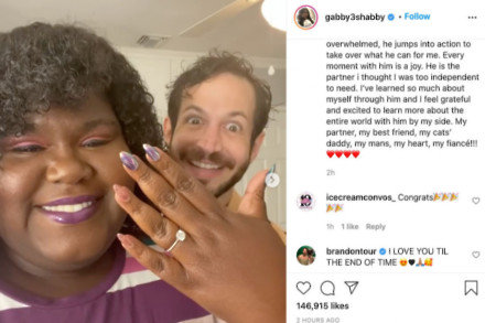 Gabourey Sidibe's Instagram (c) post