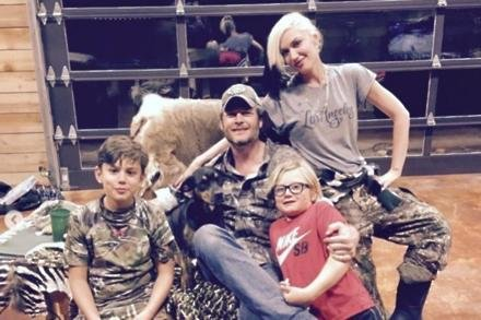 Gwen Stefani and Blake Shelton (c) instagram.com/gwenstefani/