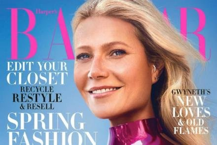 Gwyneth Paltrow on Harper's Bazaar cover