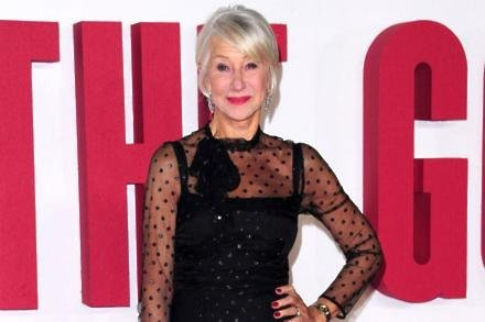 Helen Mirren at The Good Liar premiere