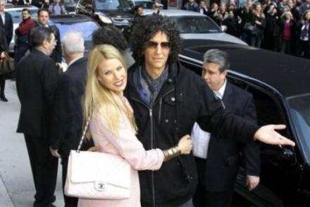 Beth and Howard Stern